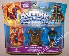 DRAGON'S PEAK Skylanders Spyro's Adventure Pack Sunburn Winged Boots Sparx NEW