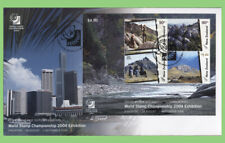 New Zealand 2004 'Singapore' Exhibition Mini sheet on First Day Cover