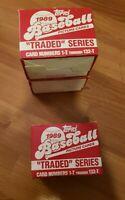1989 Topps Baseball Traded Series