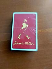 Johnnie Walker - Playing Cards - Sealed - Around year 2000.