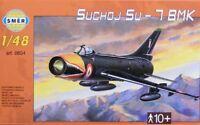 Modellbau Kunststoff Modellbausatz SMER Militaer 1:48 Flugzeug Suchoj SU 7 BMK