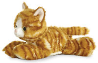 "8"" Mini Flopsie Molly Orange Tabby Kitty Cat Soft Stuffed Animal Plush"