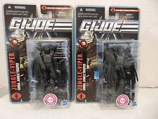 GI JOE ~ 2010 JUNGLE VIPER X2 ~ POC ~ MOC PURSUIT OF COBRA
