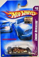 HOT WHEELS 2007 ENGINE REVEALERS TIRE FRYER #04/04 BLACK FACTORY SEALED