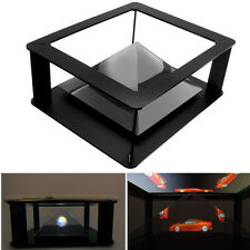 Holographic Tablet PC 3D Holographic Projection Pyramid Projector Stand For 6-12