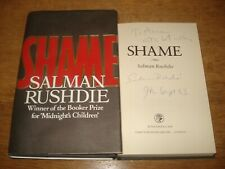 SHAME BY SALMAN RUSHDIE,SIGNED AND DATED. 1ST UK EDITION HARDBACK 1983