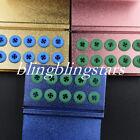 3pcs 10 holes Dental Aluminum FG Bur Burs Disinfection Autoclave Holder Blocks