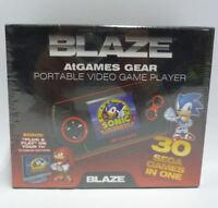 CONSOLE BLAZE MASTER SYSTEM & GAME GEAR ATGAMES SEGA 30 GIOCHI PORTABLE SONIC