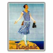 KODAK-fotocamera / Pellicola METAL SIGN TARGA sul muro Retrò Vintage Stampa Pubblicità