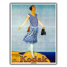 KODAK - CAMERA/FILM METAL SIGN WALL PLAQUE Vintage Retro Advert print