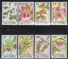 Gambia 918-25 Flowers Mint NH