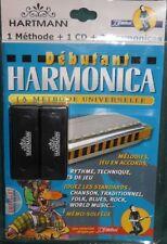 Méthode Harmonica Hartmann - Pack 2 harmonicas avec méthode+CD