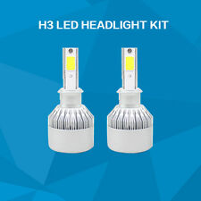 2 pieces H3 LED headlight kit 110W lighting bulb 6500K Wholesales