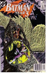 BATMAN #439 (FN-NM) Year Three