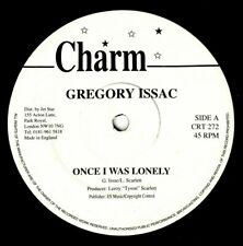 "GREGORY ISAACS-once i was lonely   charm 12""   (hear)    reggae digi"