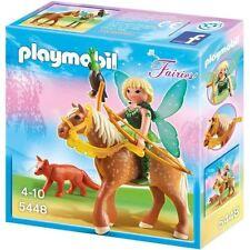 PLAYMOBIL Fairies - 5448 - Fée Diana Avec Cheval Luna - Neuf