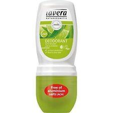 Organic Vegan Roll on Deodorants 50ml Lavera Verbena & Lime