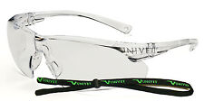 Univet 505 Clear Lens Safety Glasses With Neck Cord (505U.00.00.00)