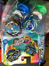 Hasbro Beyblade Burst Slingshock Gaianon G4 And Kerbeus K4 Dual Pack Brand New