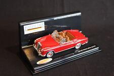 Vitesse Mercedes-Benz 220 SE Cabriolet 1:43 Red (JS)