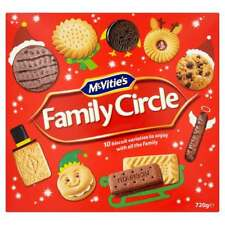 McVITIE'S FAMILY CIRCLE 720g BISCUIT BOX WHOLESALE DISCOUNT BUFFET PARTY 196783