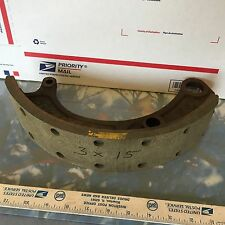 Studebaker, other, old truck brake shoe. 3  x 15.   Just one.   Item:  1837