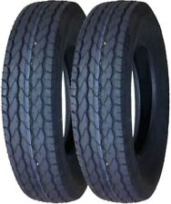 "2 New Free Country Trailer Tires ST175/80D13 B78-13 13"" Bias 8PR LRD Heavy Duty"