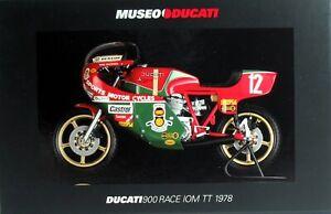 MINICHAMPS 122781212 DUCATI 900 RACER 1:12
