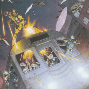 IDW Comics Gi Joe Volume 3 Issue No 09 Threat Matrix Pt 3 Of 4 Cover A Oct 2013