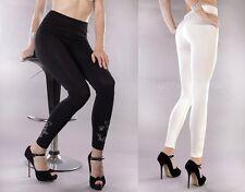 NEU Damen Leggins Jeggings schwarz L/XL Skinny Slim Fit Röhre Stretch Jeans Hose