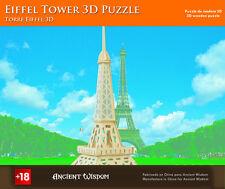 Nueva Torre Eiffel 3D Rompecabezas De Madera