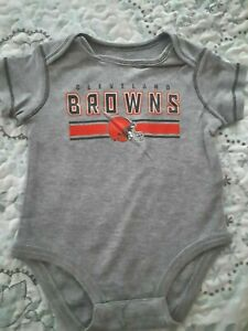 Licensed Cleveland Browns Baby Bodysuit One Piece NFL New