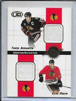 01-02 Heads Up Amonte/Daze/Thibault/Calder Quad Jersey # 6