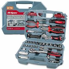 Hi-Spec 67 Piece Auto Mechanics Tool Kit Set. DIY Car, Garage & Workshop Repair