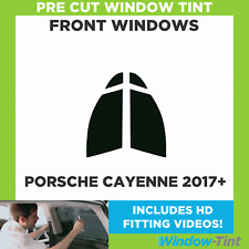 Pre Cut Window Tint - Porsche Cayenne 2017 Front Windows