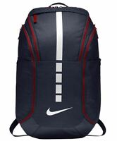 Nike Hoops Elite Pro Basketball Backpack Navy Blue Red White BA5554-414