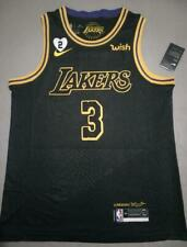 Anthony Davis #3 Lakers City Edition Black Jersey With Love Path
