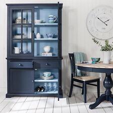 Florence Display Cabinet Dresser- 2 Tone Navy Blue