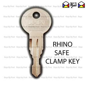 RHINO SAFE CLAMP LADDER KEY & Roof Bar Keys CUT TO YOUR CODE 001 - 200