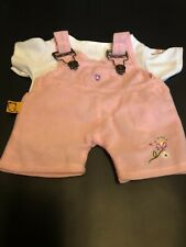 Bear Works Pink Overall Outfit Fits Build A Bears