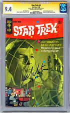 STAR TREK #3 CGC-SS 9.4 NEAR MINT *SIGNED BY KIRK/WILLIAM SHATNER* GOLD KEY 1968