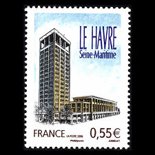 "France 2008 -  Tourism ""Le Havre"" Architecture - Sc 3409 MNH"