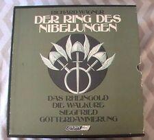 Richard Wagner Der Ring Des Nibelungen London 4 Opera Box Sets & Book 19 LPs!