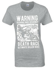 Illegal Carrera Speedway Camiseta Motorista Metal Rock Gótico Reaper Moto