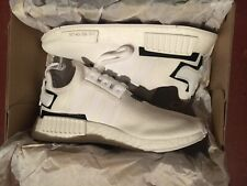 Brand New Adidas NMD_R1 Boost Triple White BD7741 Size 8.5