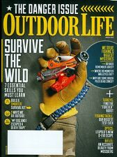 2015 Outdoor Life Magazine: Danger Issue/Survive the Wild/Turkeys/Fishing Tackle