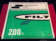 """Filter"" Richard Patrick Hand Signed Album PAAS COA"