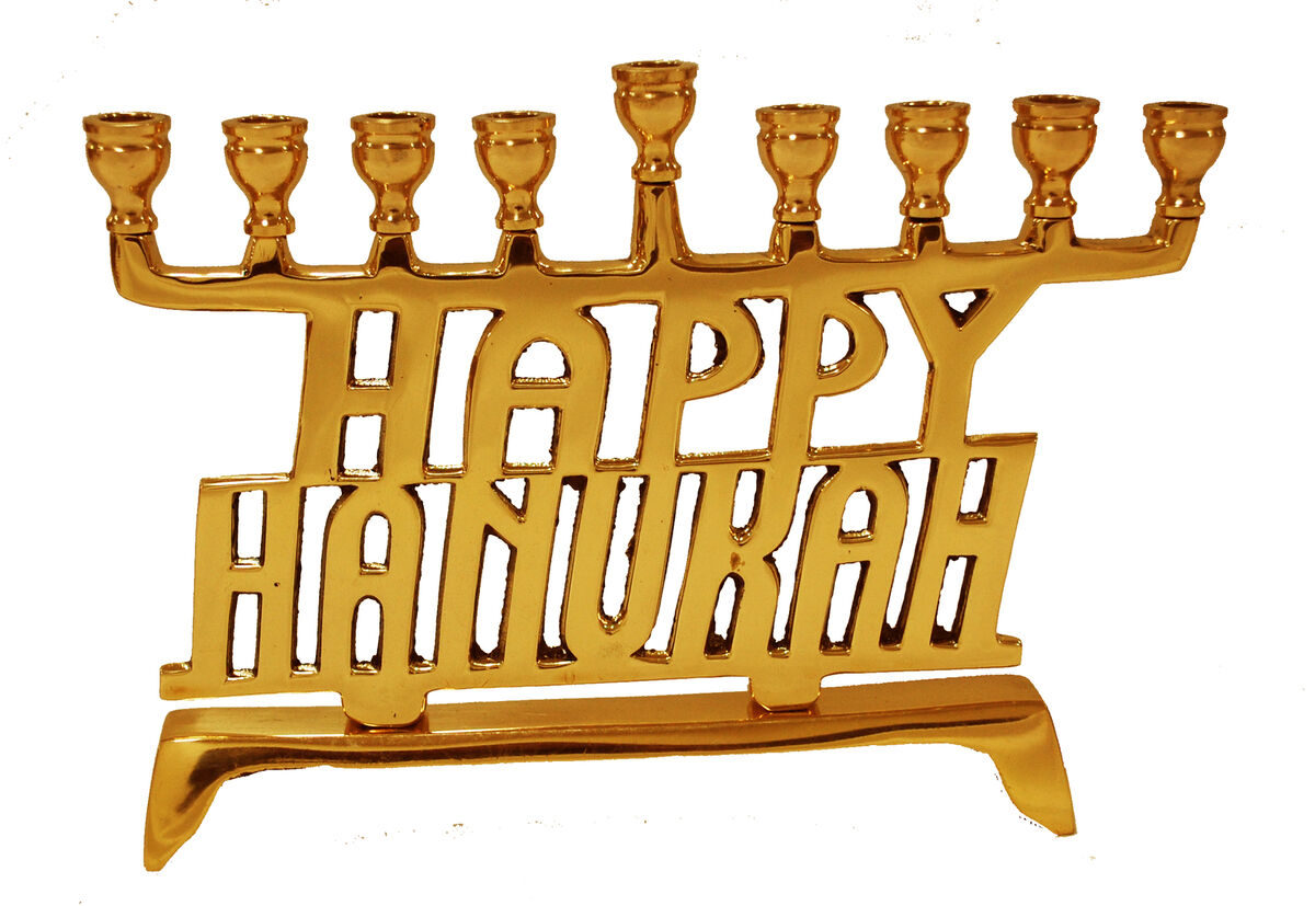 Sale on Menorah Candle Stand