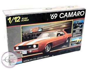 Monogram 69 Camaro 1/12 Scale Plastic Model Kit #2802 Complete 3n1 1988