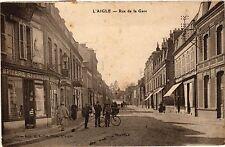 CPA L'aigle - Rue de la Gare (259299)